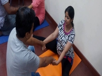 Antenatal Yoga Sessions, Kondapur - April 2016