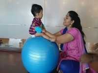 Exercise class at Marthahalli - August