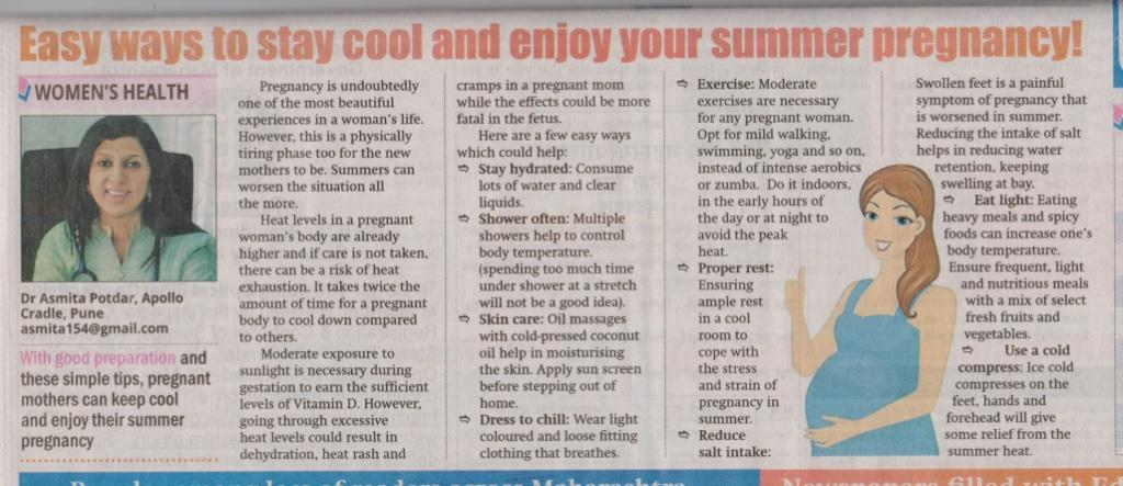 37 Ways To Savor Your Summer: Easy Ways To Stay Cool And Enjoy Your Summer Pregnancy