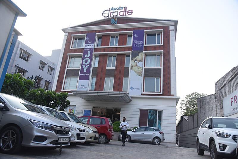 Apollo Cradle Centre in Motinagar, Delhi